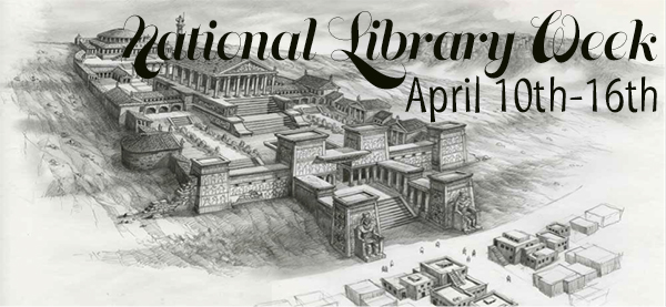 National Library Week Book Sale!